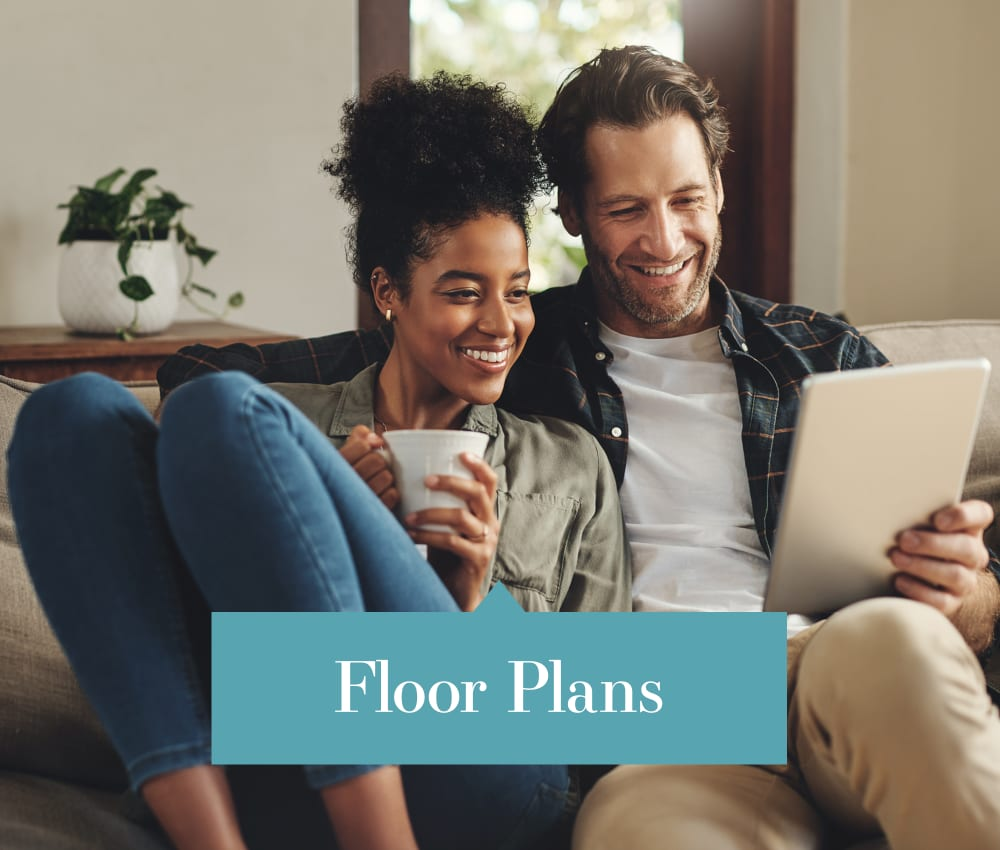 Link to view our floor plans at Villas of Waterford Apartments in Wichita, Kansas