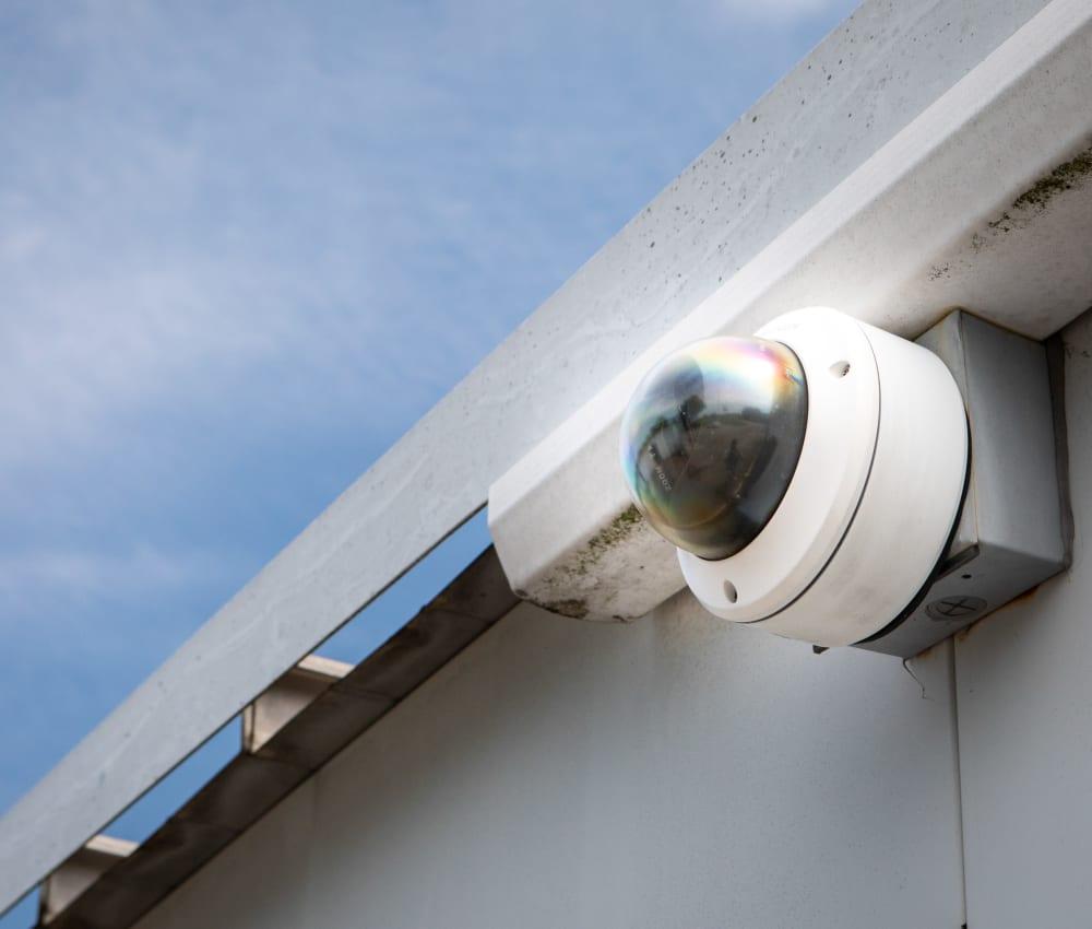 Video surveillance at AAA Self Storage of Thomasville in Thomasville, North Carolina