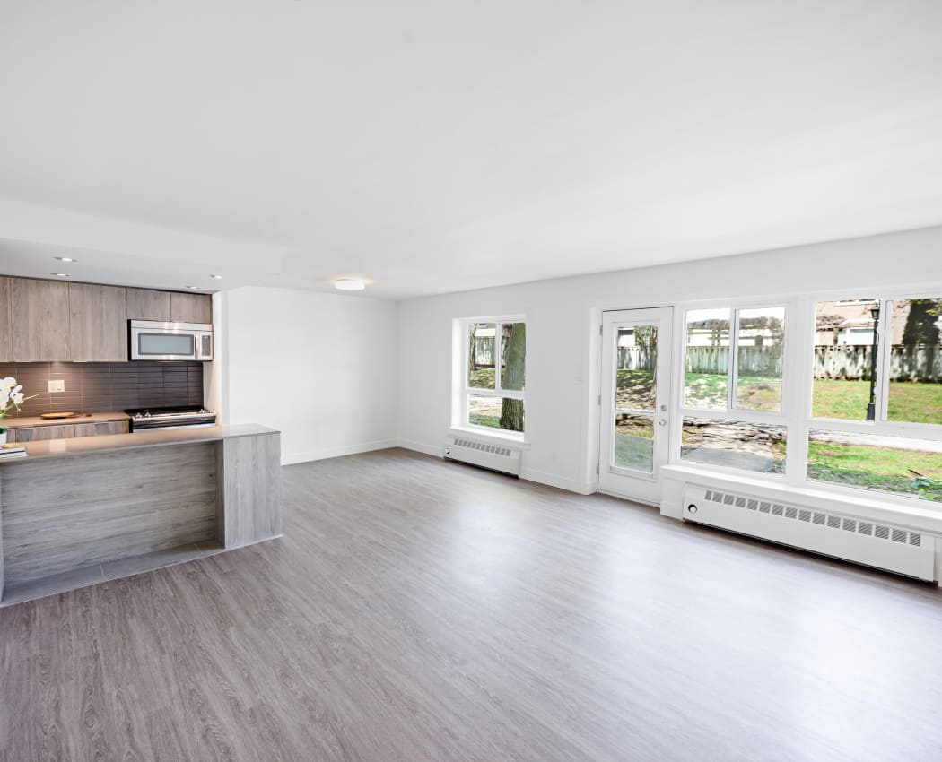 Beautiful apartments with hardwood floors in North York, Ontario