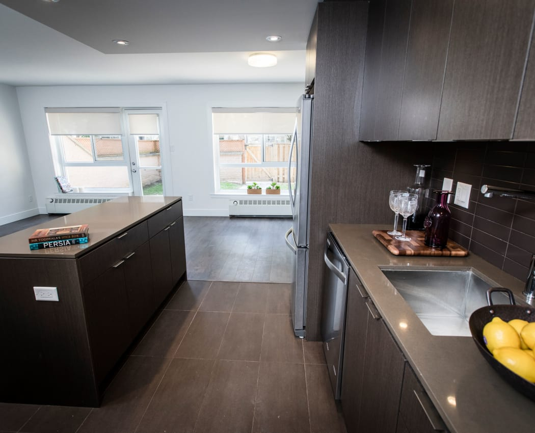 Unique custom cabinetry in our North York, Ontario apartments