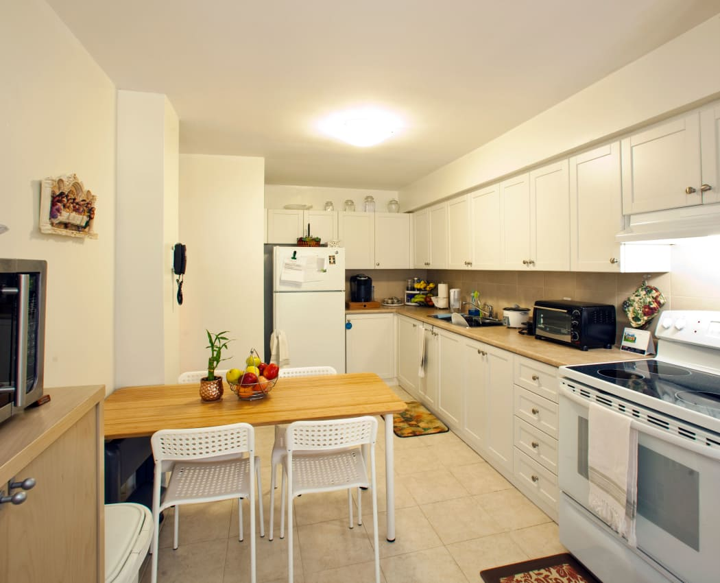 Our apartments in North York, Ontario have a state-of-the-art kitchen