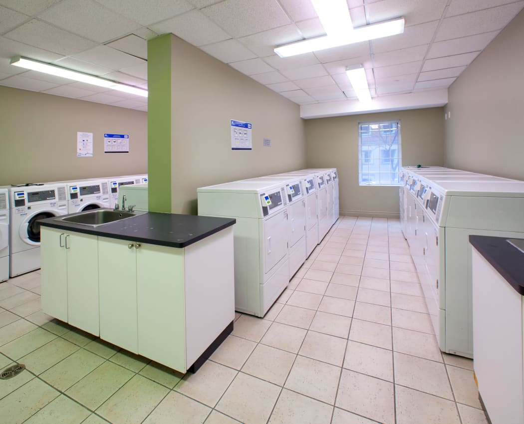 Laundry facility at Richmond Hill Apartments in Richmond Hill