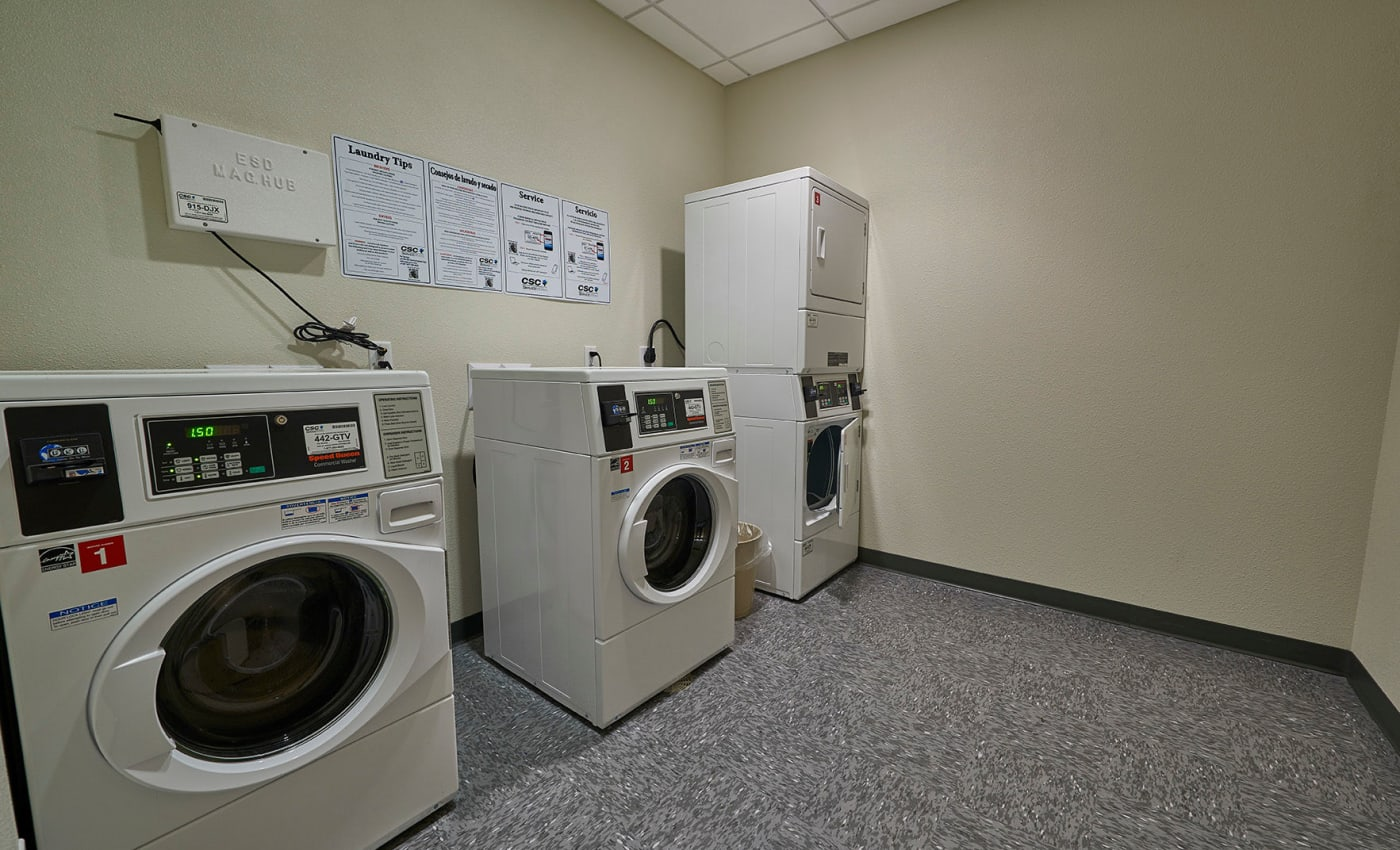 Onsite laundry facilities at ALTO in Westminster, CO