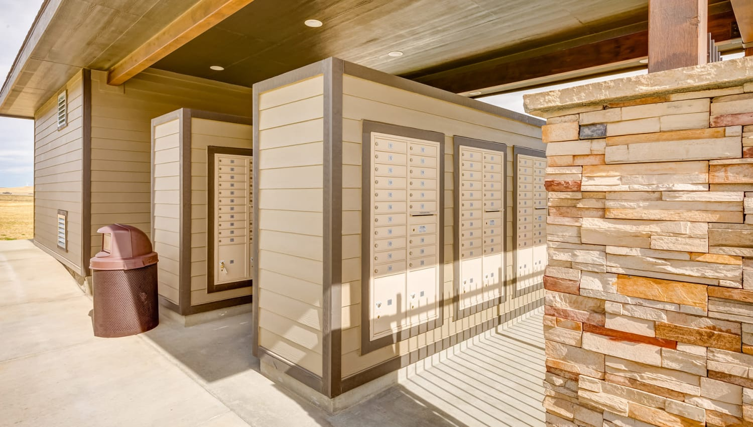 Private mailbox area at Granite 550 in Casper, Wyoming