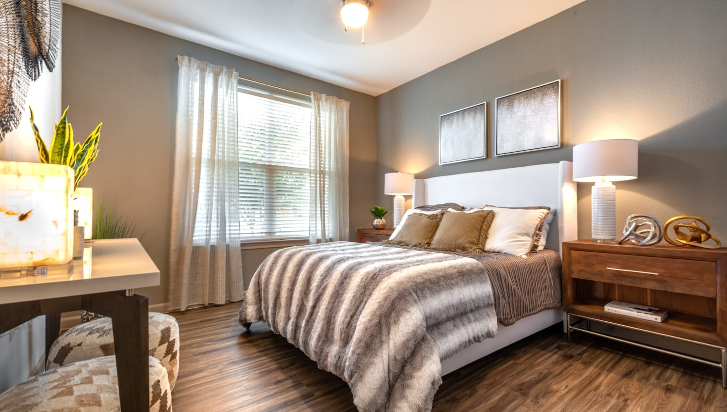 Beautiful bedroom at Olympus Katy Ranch in Katy, Texas