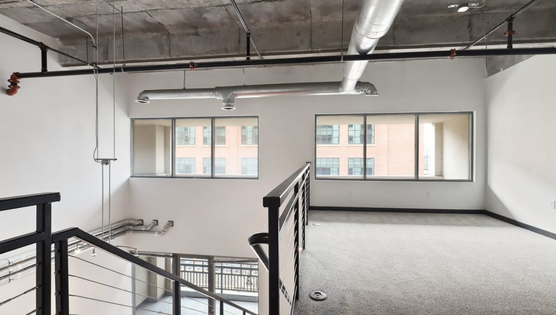Second floor at 17th Street Lofts in Atlanta, Georgia