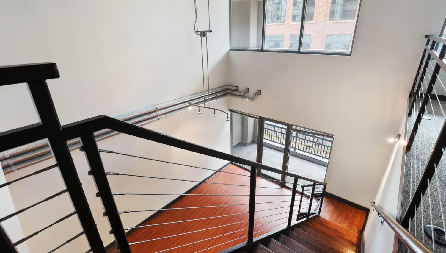 Stunning open loft-style floor plans at 17th Street Lofts in Atlanta, Georgia