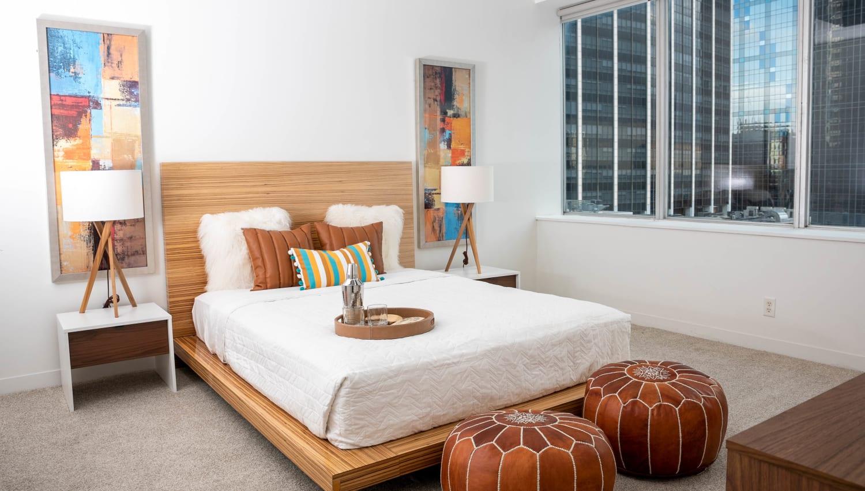 Bedroom at Mosaic Dallas in Dallas, Texas