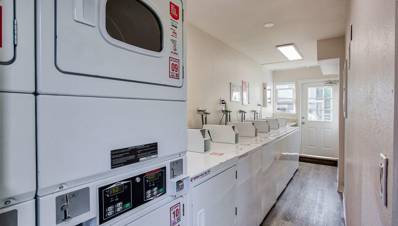 24-hour clothes care facilities at Pleasanton Place Apartment Homes in Pleasanton, California