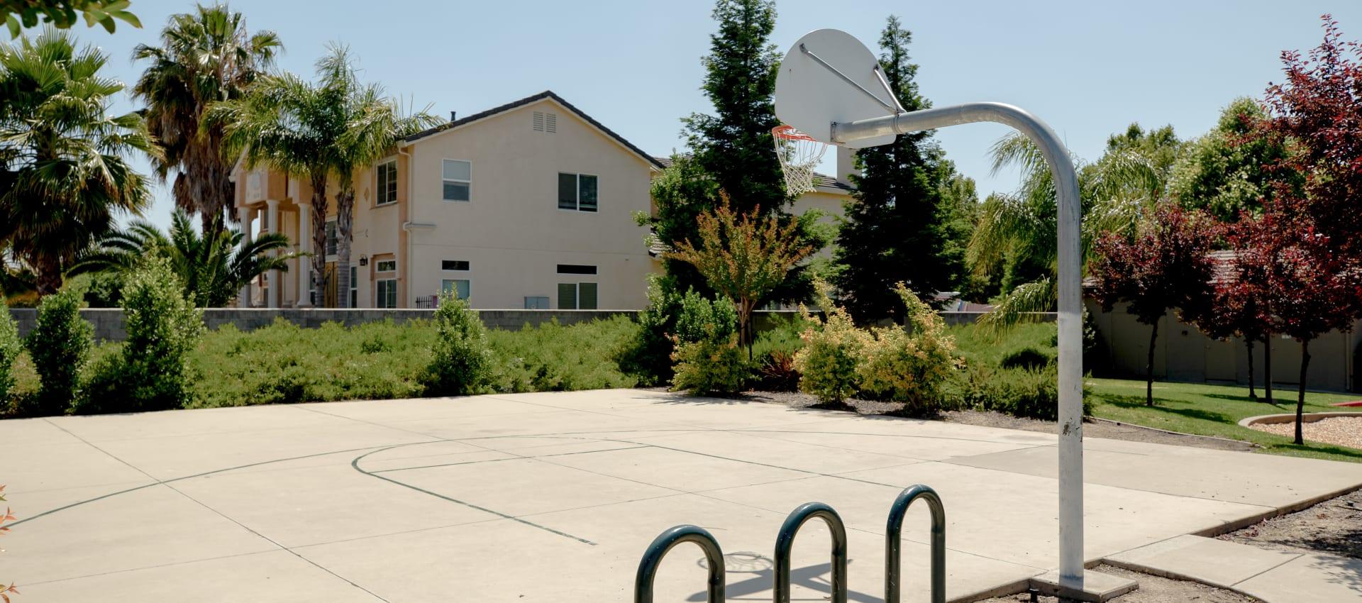 Sport Court at Wolf Ranch Condominium Rentals in Sacramento