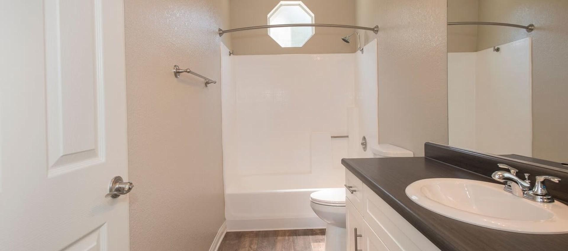 Bathroom at Niguel Summit Condominium Rentals in Laguna Niguel, CA