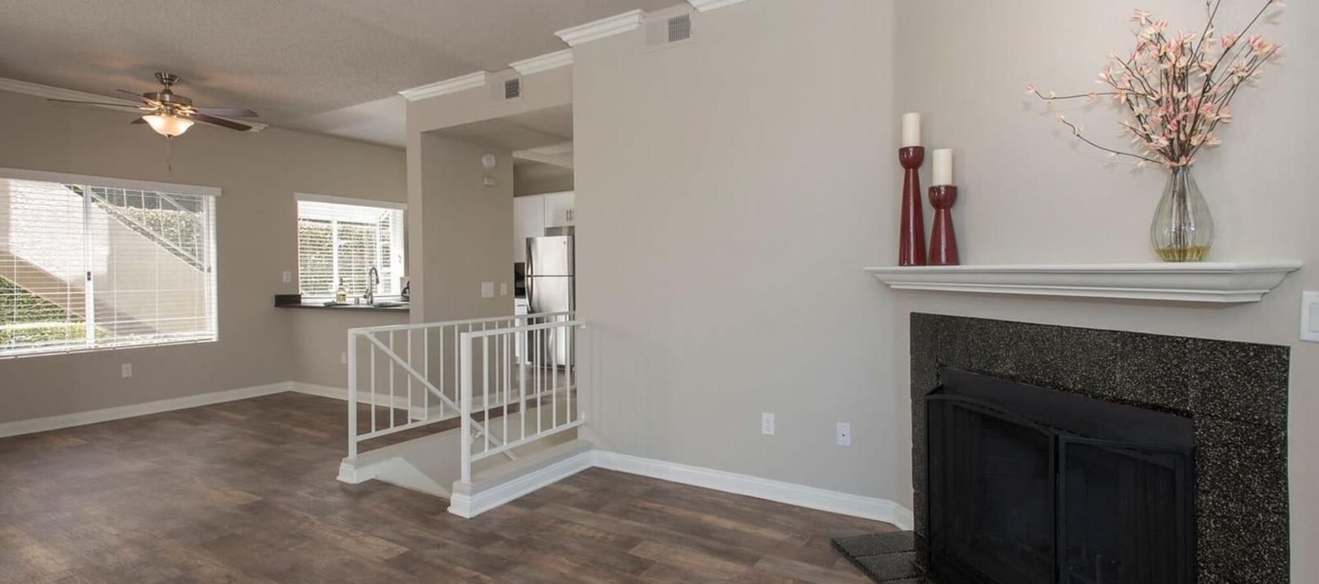 Spacious living room at Niguel Summit Condominium Rentals in Laguna Niguel, CA