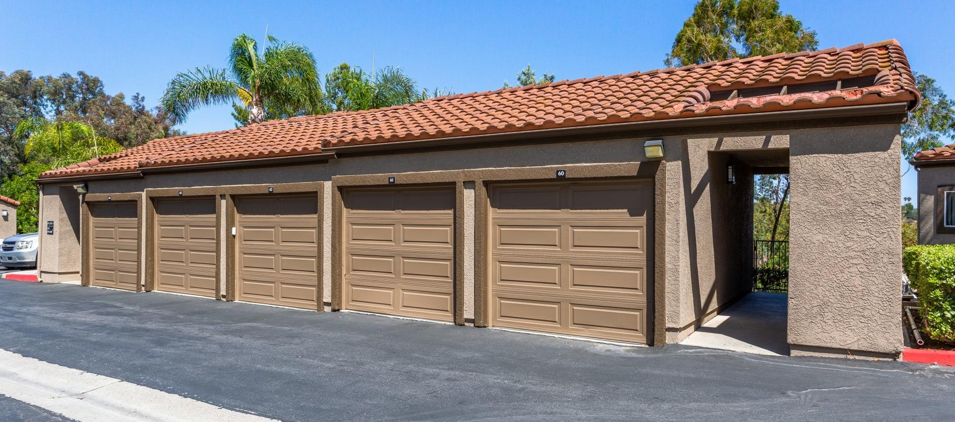 Garages at Niguel Summit Condominium Rentals in Laguna Niguel, CA