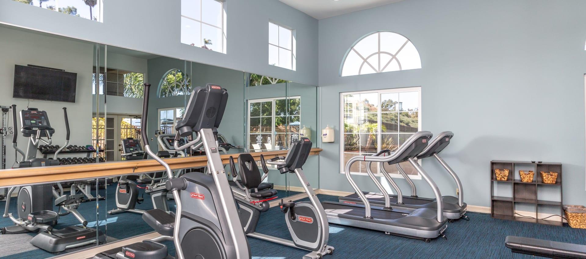 Fitness center at Niguel Summit Condominium Rentals in Laguna Niguel, California