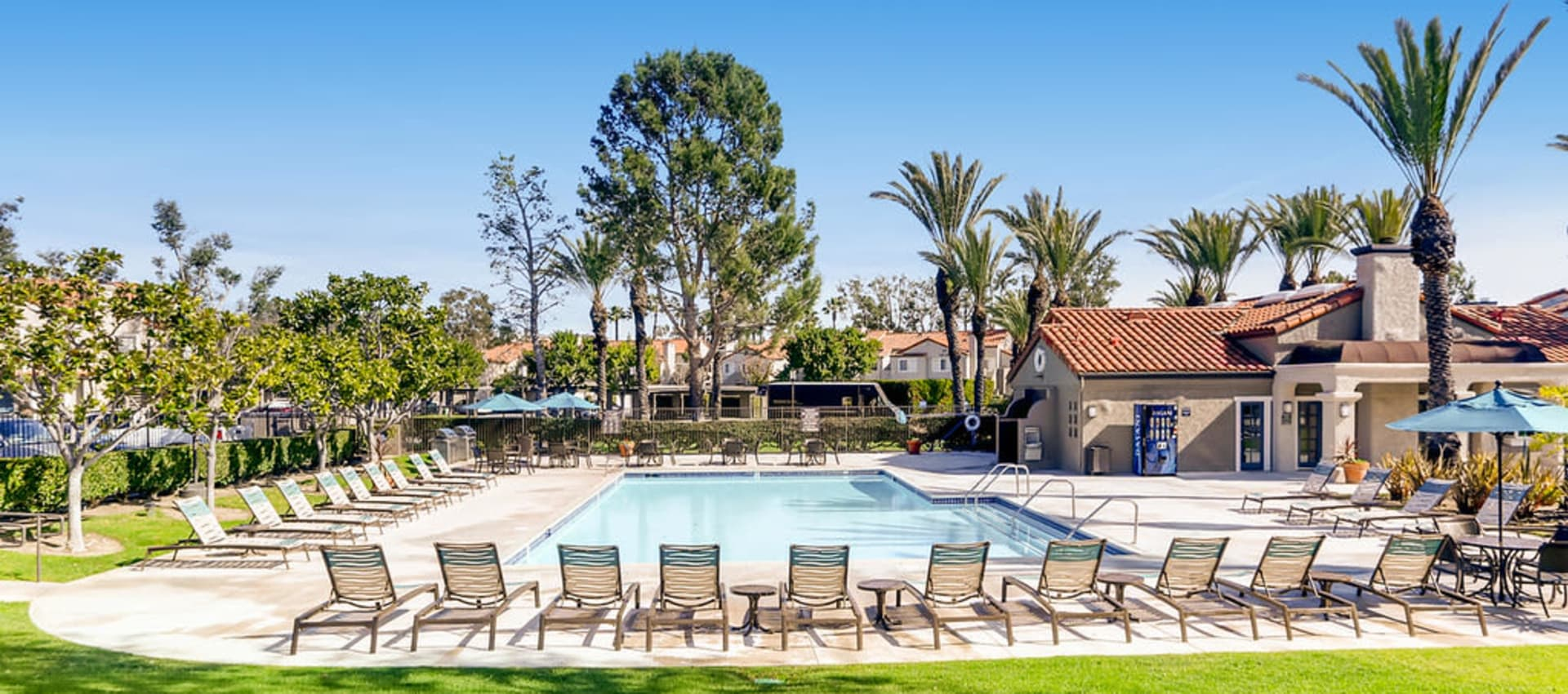 Pool at Hidden Hills Condominium Rentals in Laguna Niguel, California