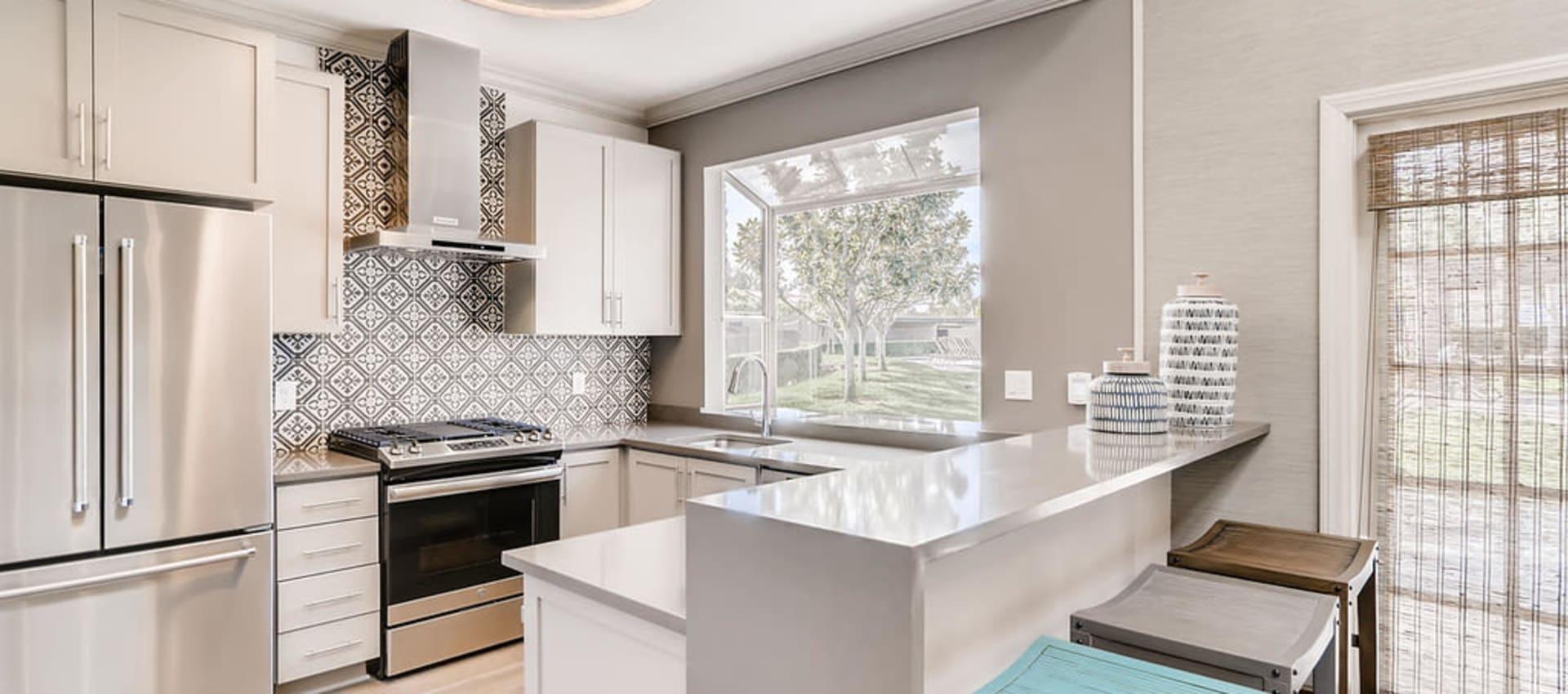 Kitchen at Hidden Hills Condominium Rentals in Laguna Niguel, California