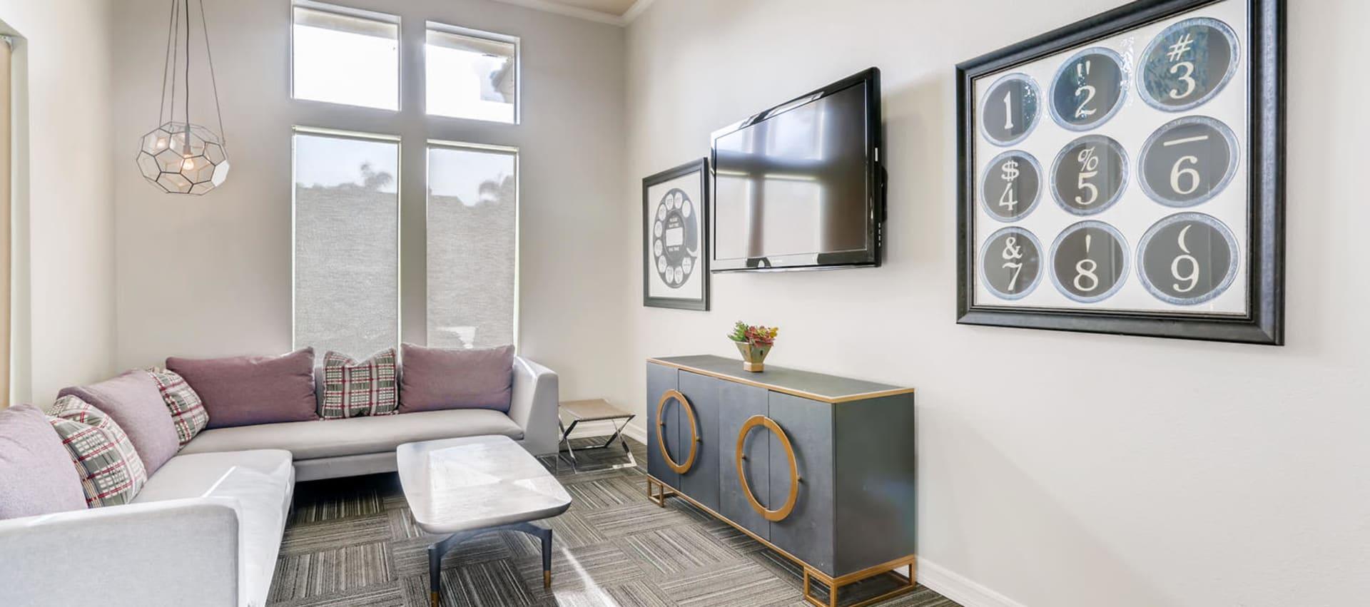 lounge at Alize at Aliso Viejo Apartment Homes in Aliso Viejo, California
