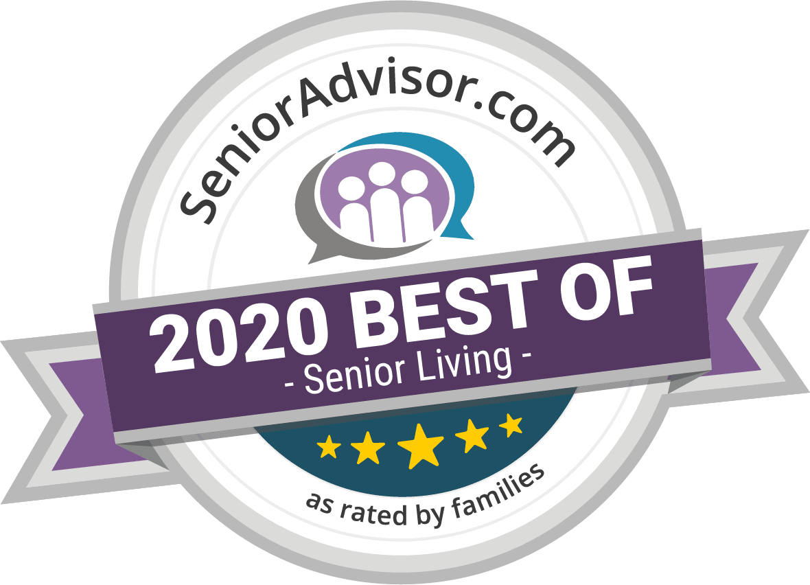 2018 best of senior living award for The Birches at Harleysville in Harleysville, Pennsylvania