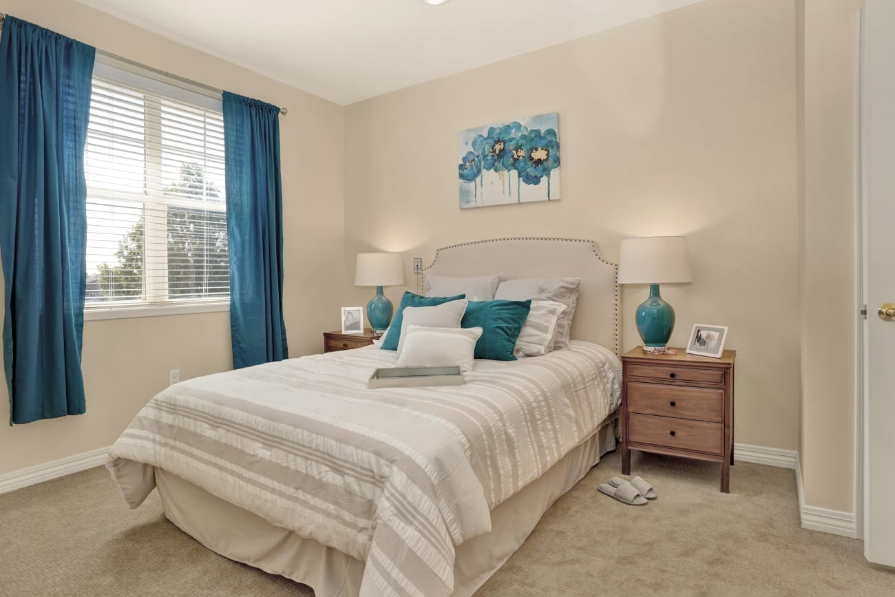 Bedroom at The Wellington in Salt Lake City, Utah