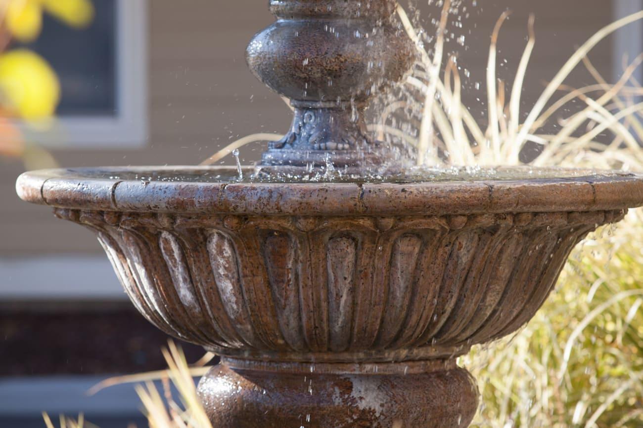 Fountain at The Wellington in Salt Lake City, Utah