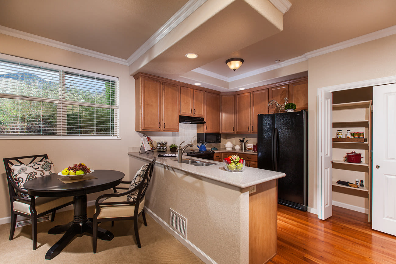 A kitchen example at The Palisades at Broadmoor Park
