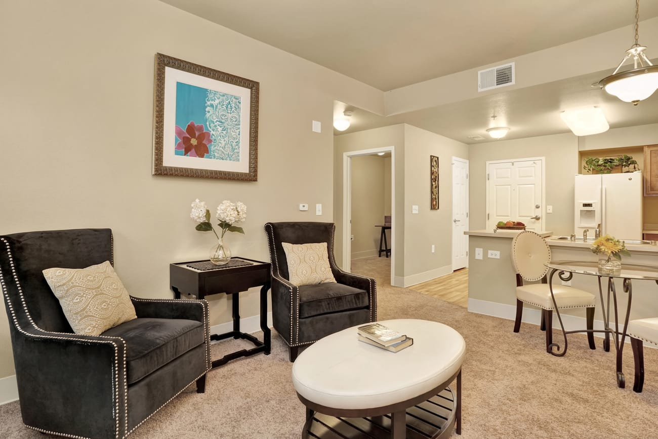 A view of an apartment home at The Inn at Greenwood Village