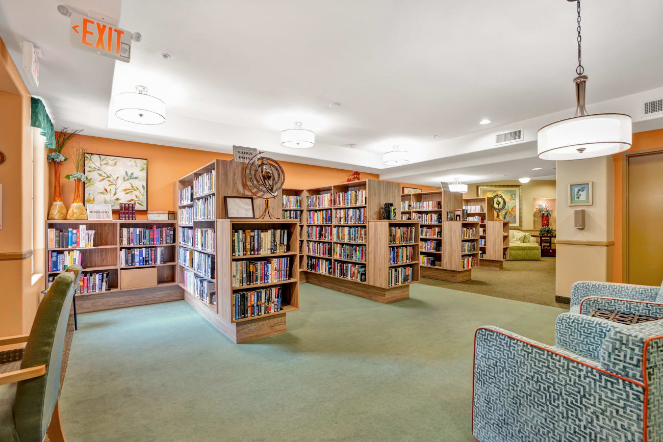 library at McDowell Village