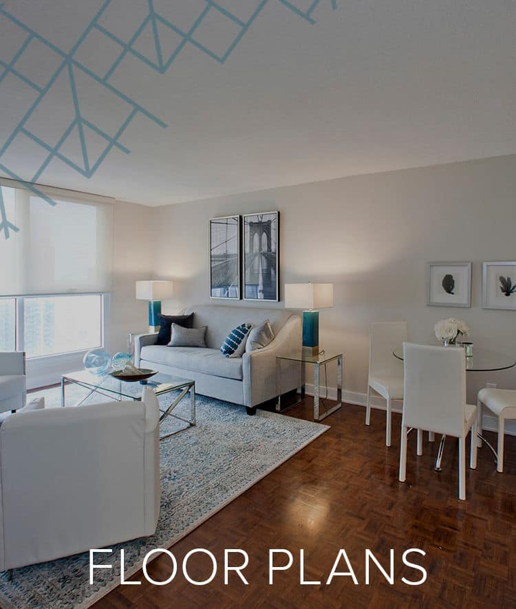 Our Floor Plans for Residences on Bloor in Toronto, Ontario