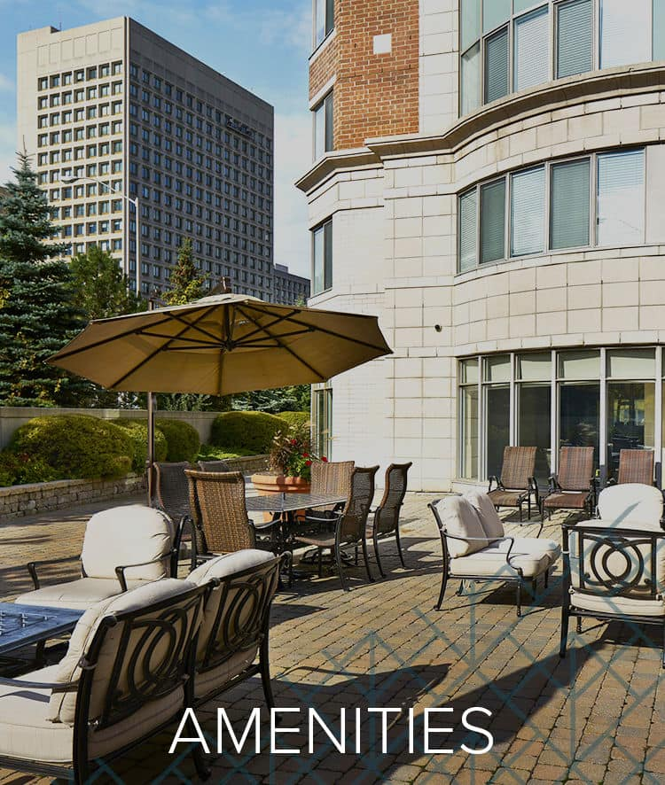 Our Amenities for 50 Laurier in Ottawa