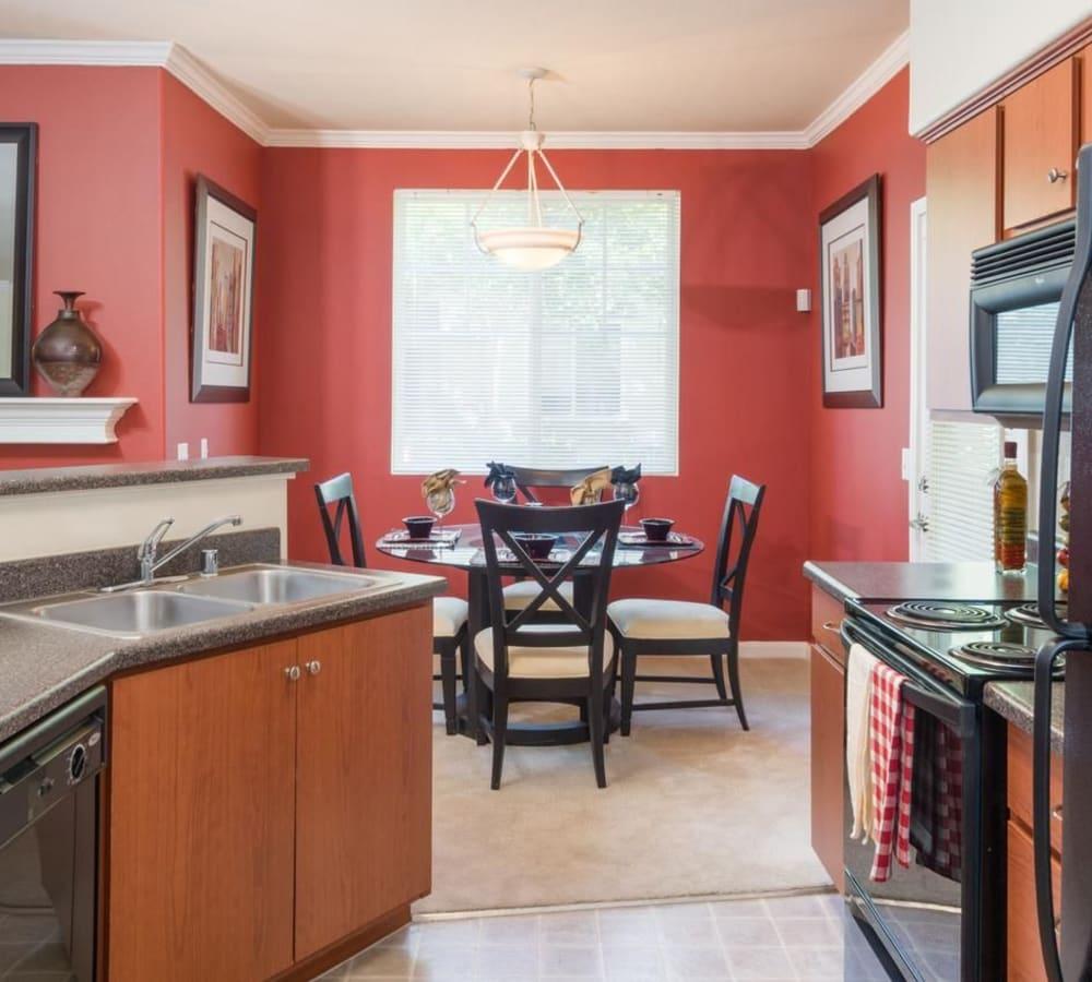 Open-concept floor plan at The Artisan Apartment Homes in Sacramento, California