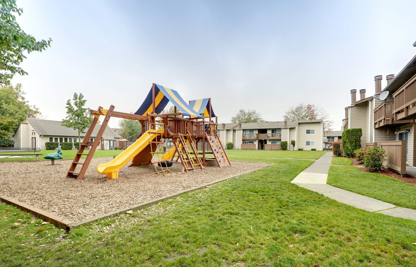 On-site playground at Arbor Chase Apartment Homes in Kent, WA