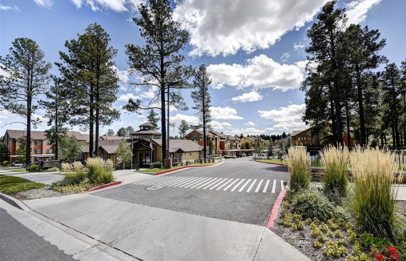 Entrance to Sterling Pointe in Flagstaff, AZ