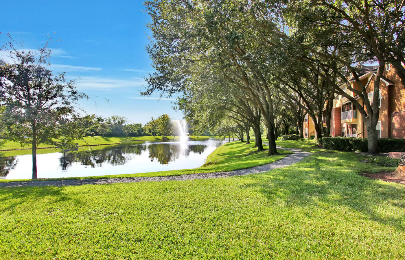 Gorgeous pond at IMT Newport Colony in Casselberry, FL