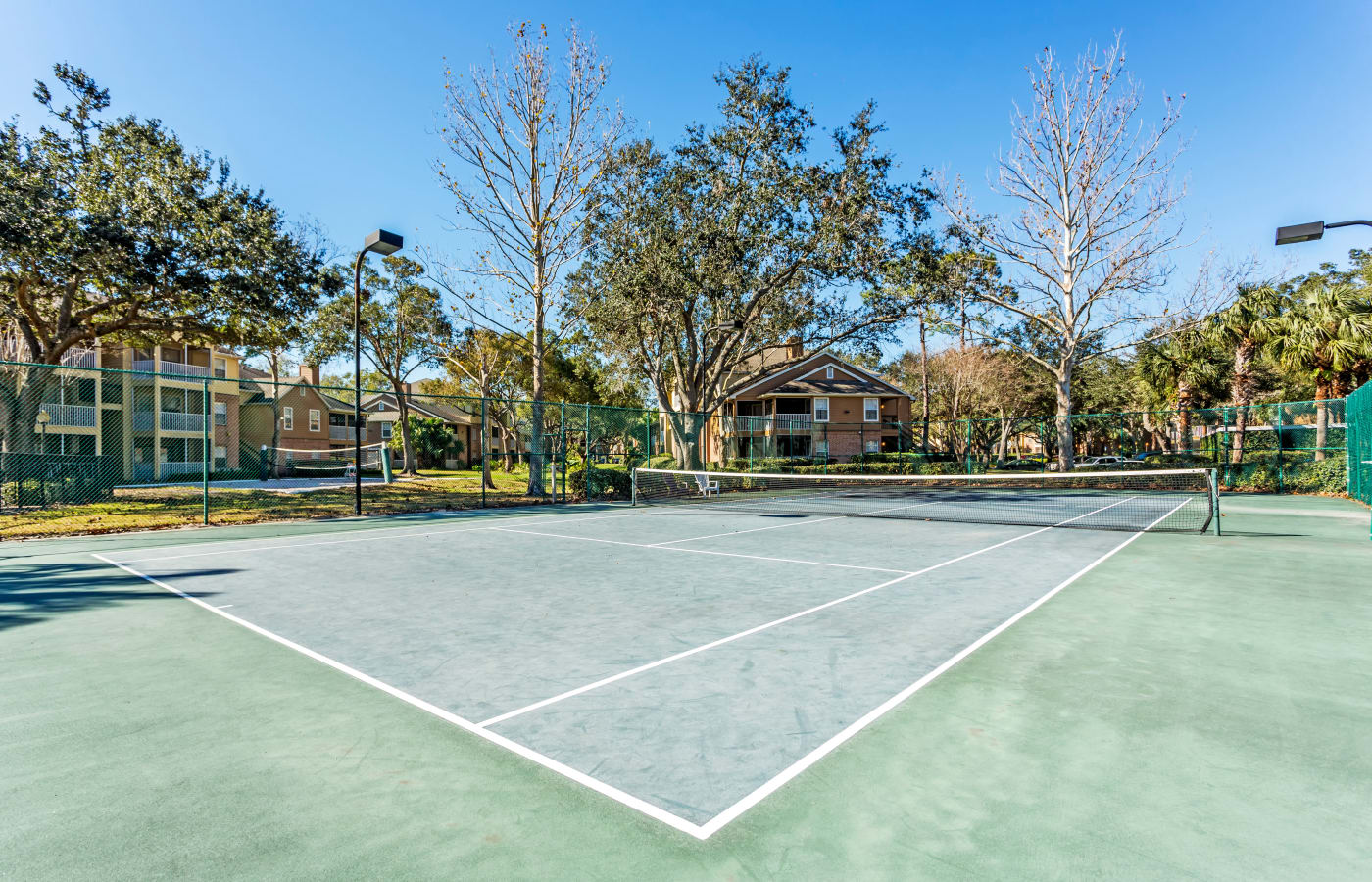 Tennis courts at IMT Newport Colony in Casselberry, FL