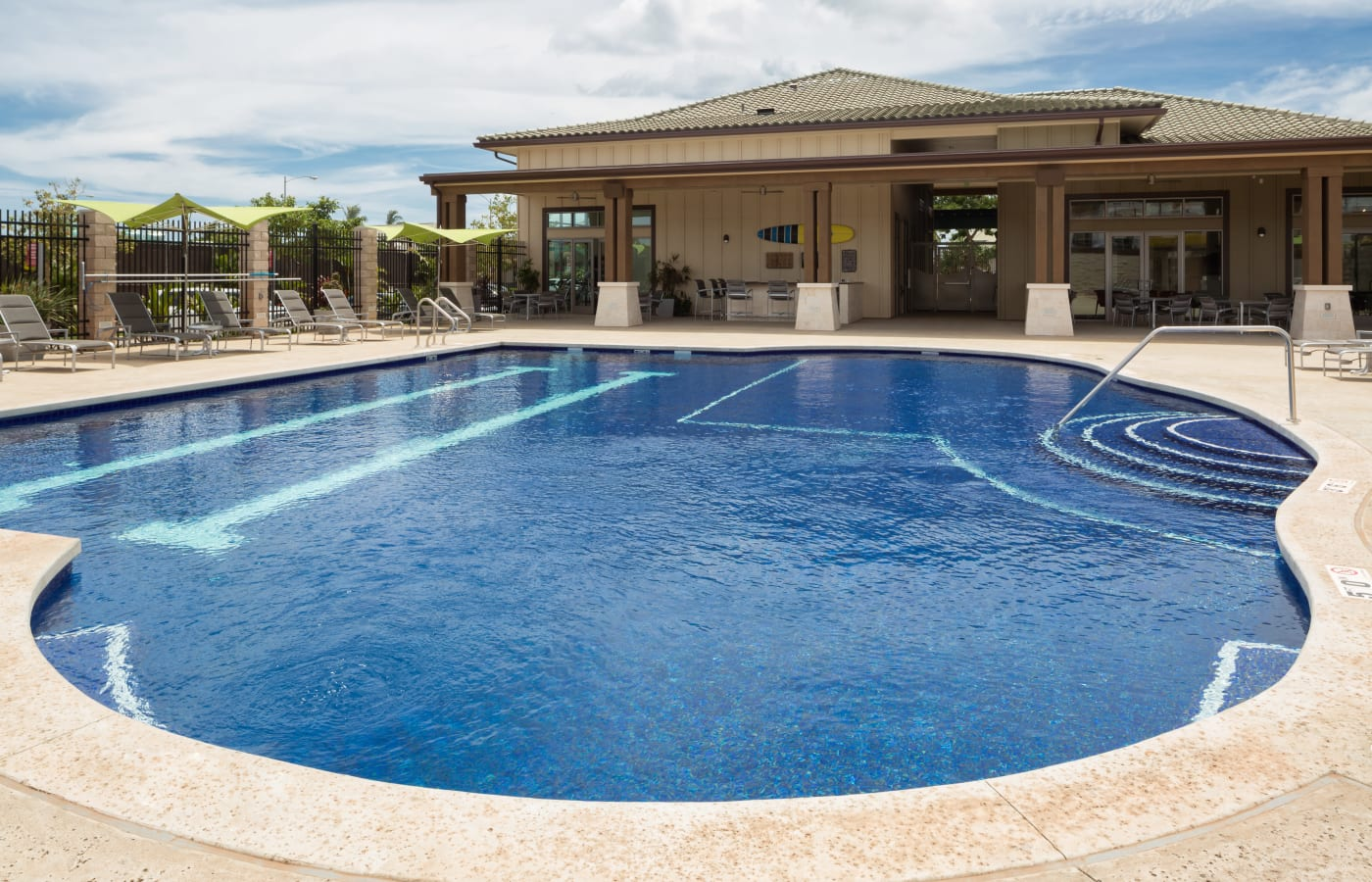 Beautiful swimming pool at Kapolei Lofts in Kapolei, HI
