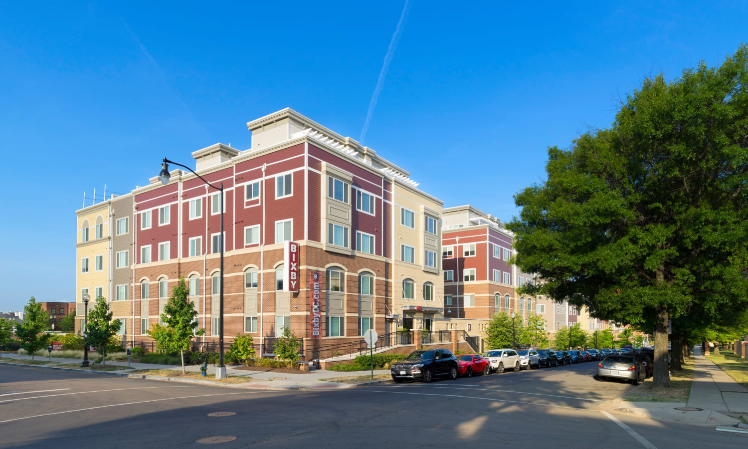 Exterior view of our community at The Bixby in Washington, District of Columbia