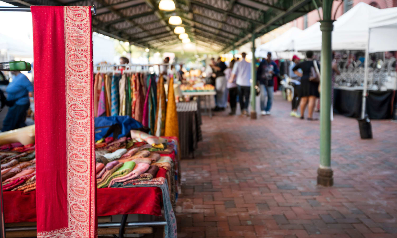 Outdoor markets market near The Bixby in Washington, District of Columbia