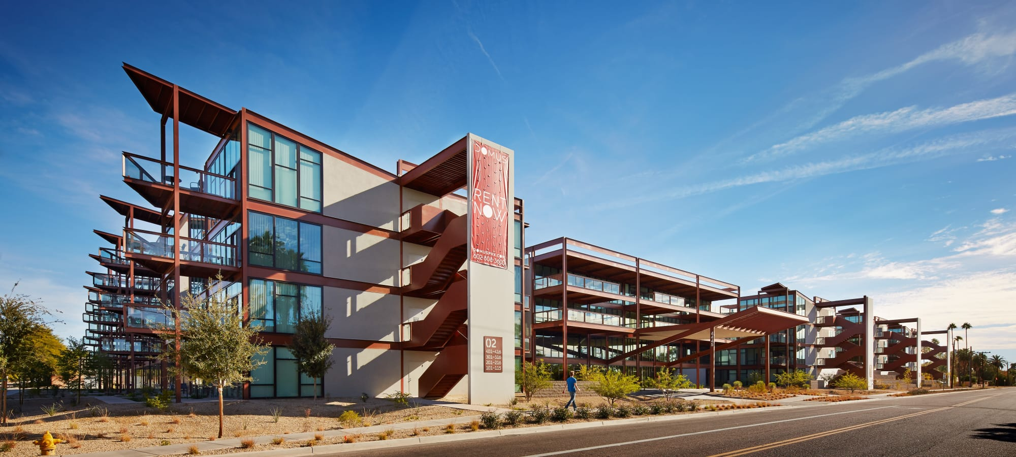 View of our community at Domus in Phoenix, Arizona
