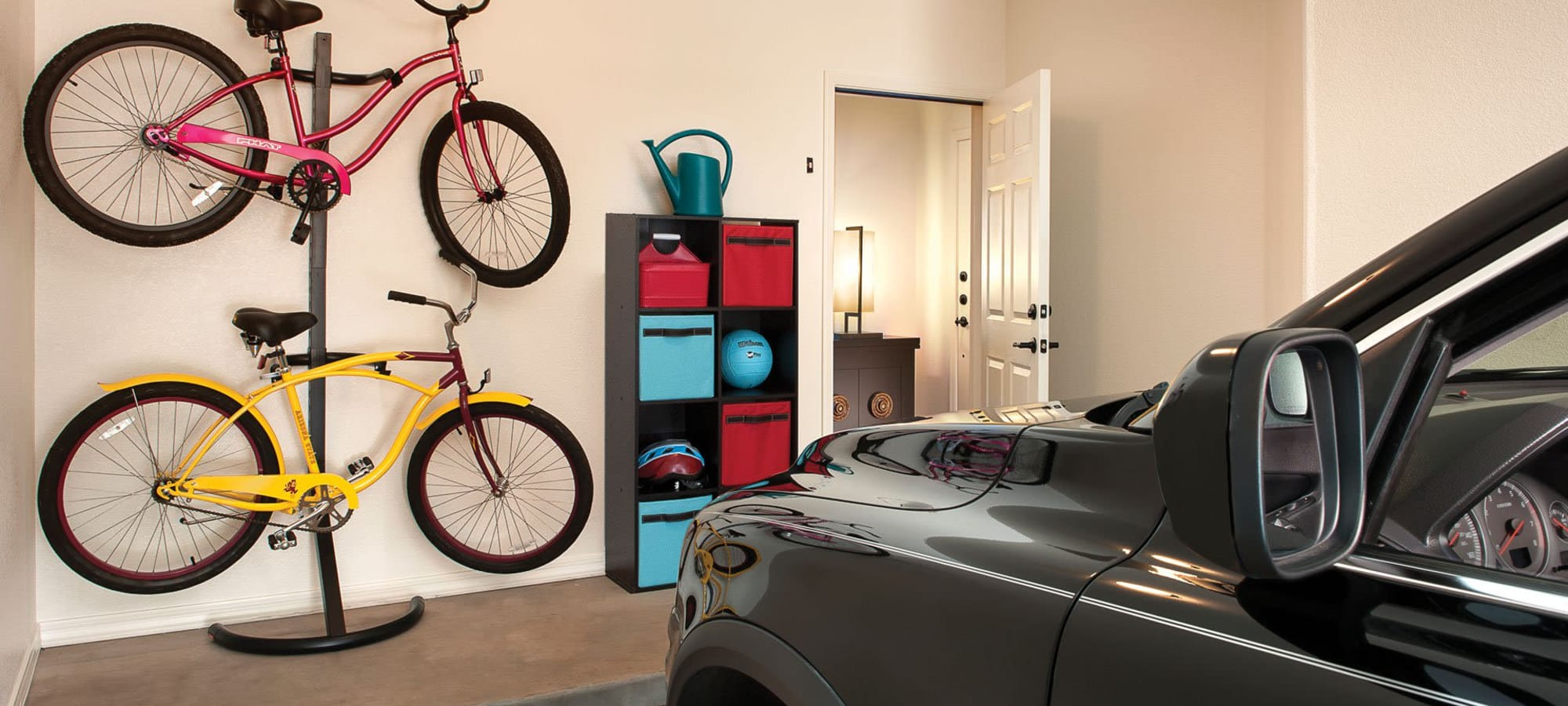 Private garage for apartment home at San Milan in Phoenix, Arizona
