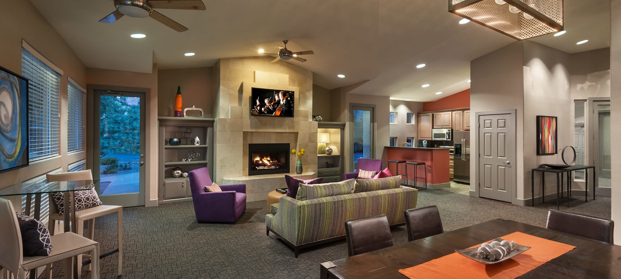 Resident clubhouse at Bellagio in Scottsdale, Arizona