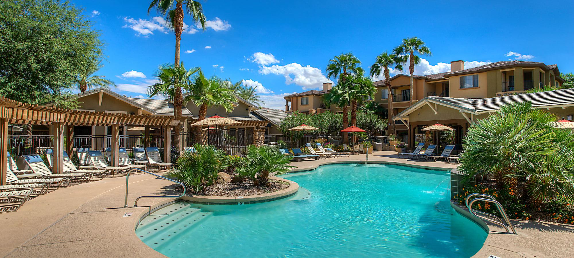 Swimming pool at Azul at Spectrum in Gilbert, Arizona