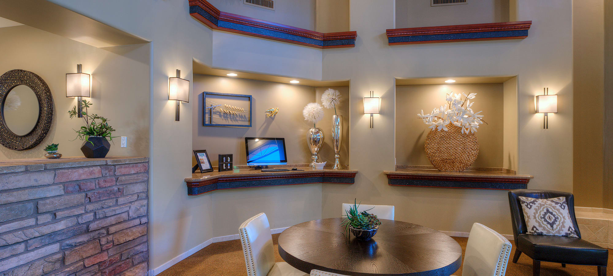 Resident clubhouse at San Cervantes in Chandler, Arizona