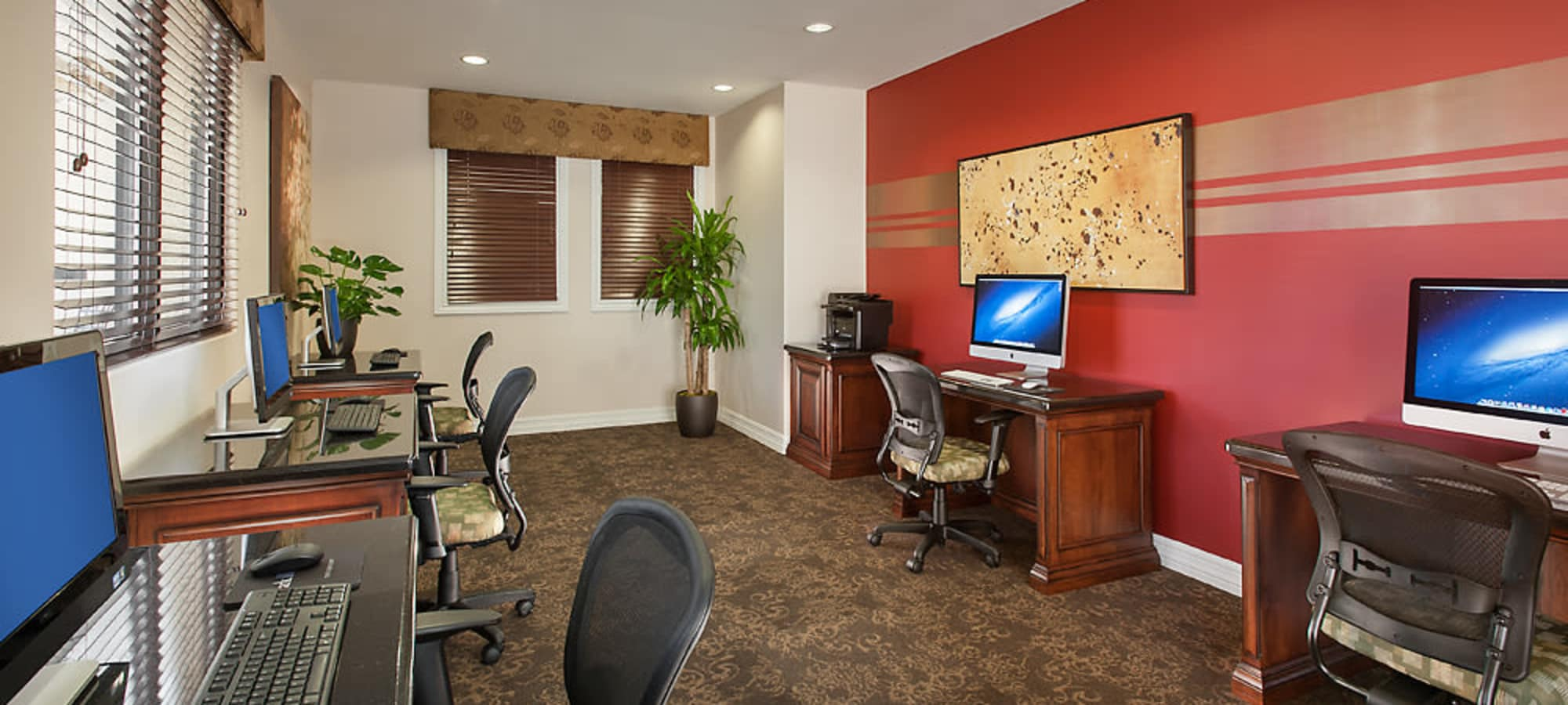 Community business center at San Norterra in Phoenix, Arizona
