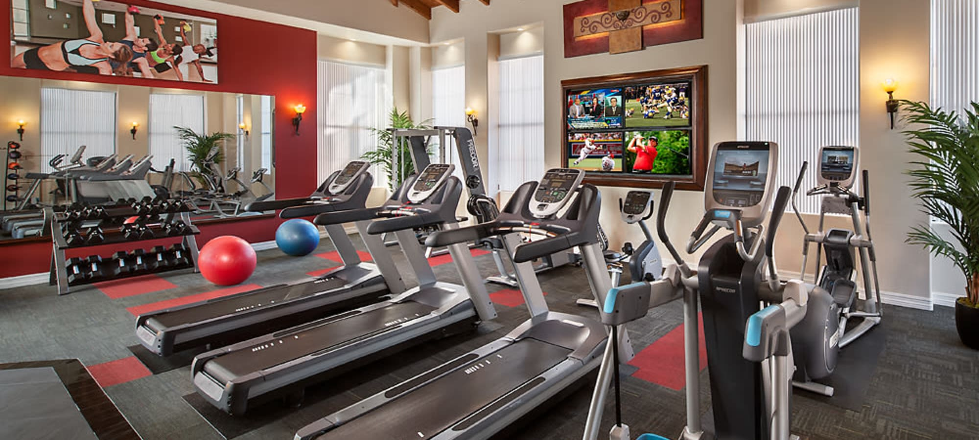 Community fitness center at San Norterra in Phoenix, Arizona