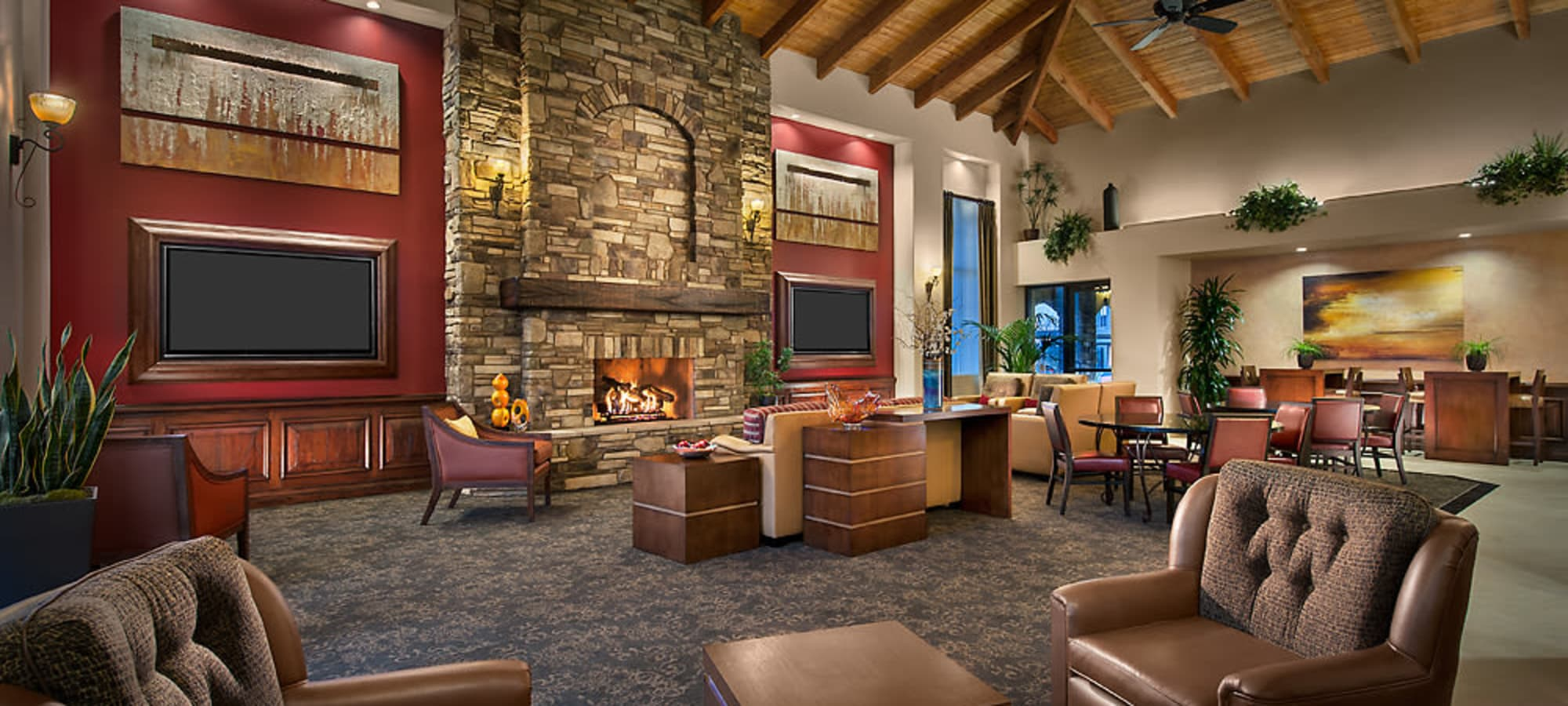 Community clubhouse at San Norterra in Phoenix, Arizona