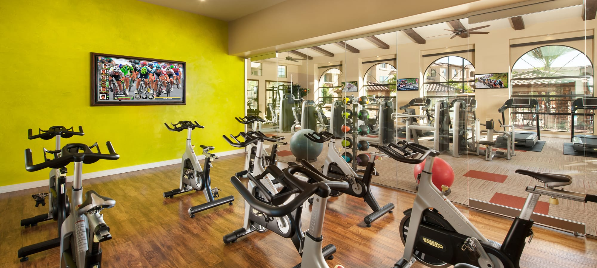 Take a spin class at San Sonoma in Tempe, Arizona