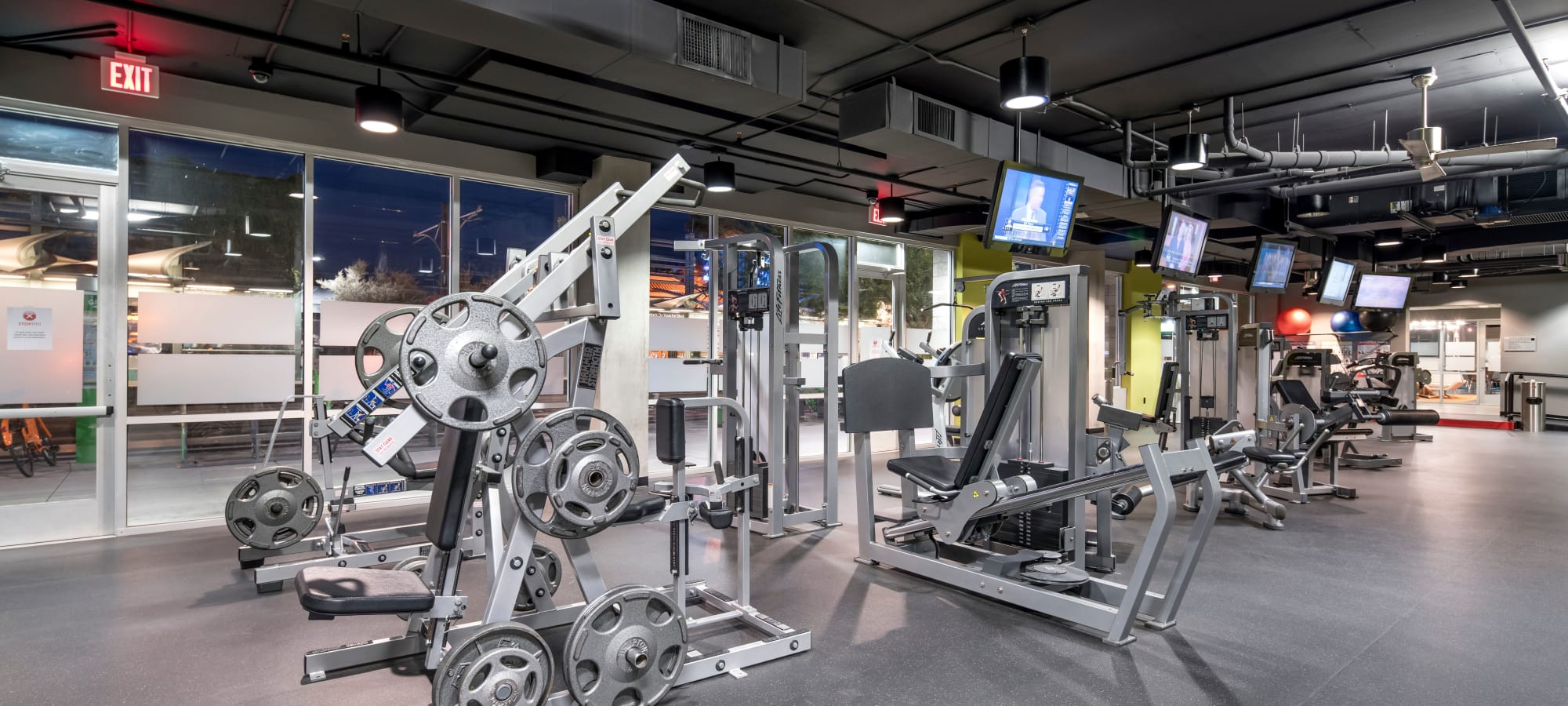 Up-to-date community fitness center at Tempe Metro in Tempe, Arizona