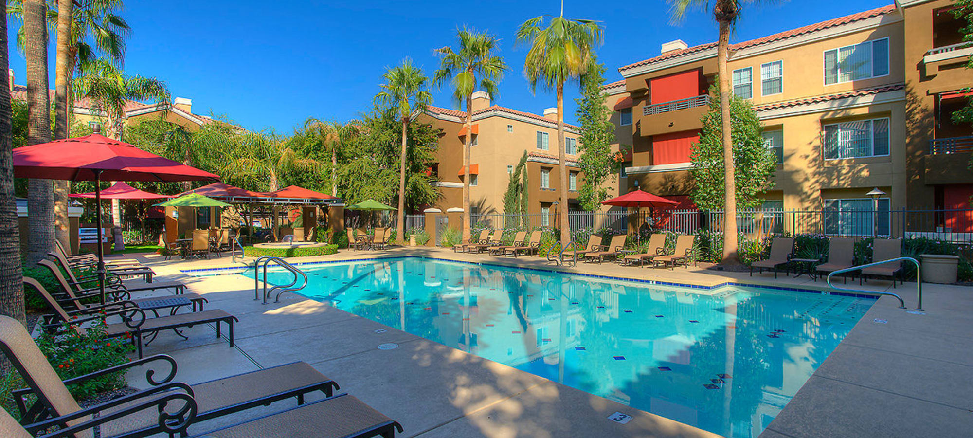 Large swimming pool at Park on Bell in Phoenix, Arizona