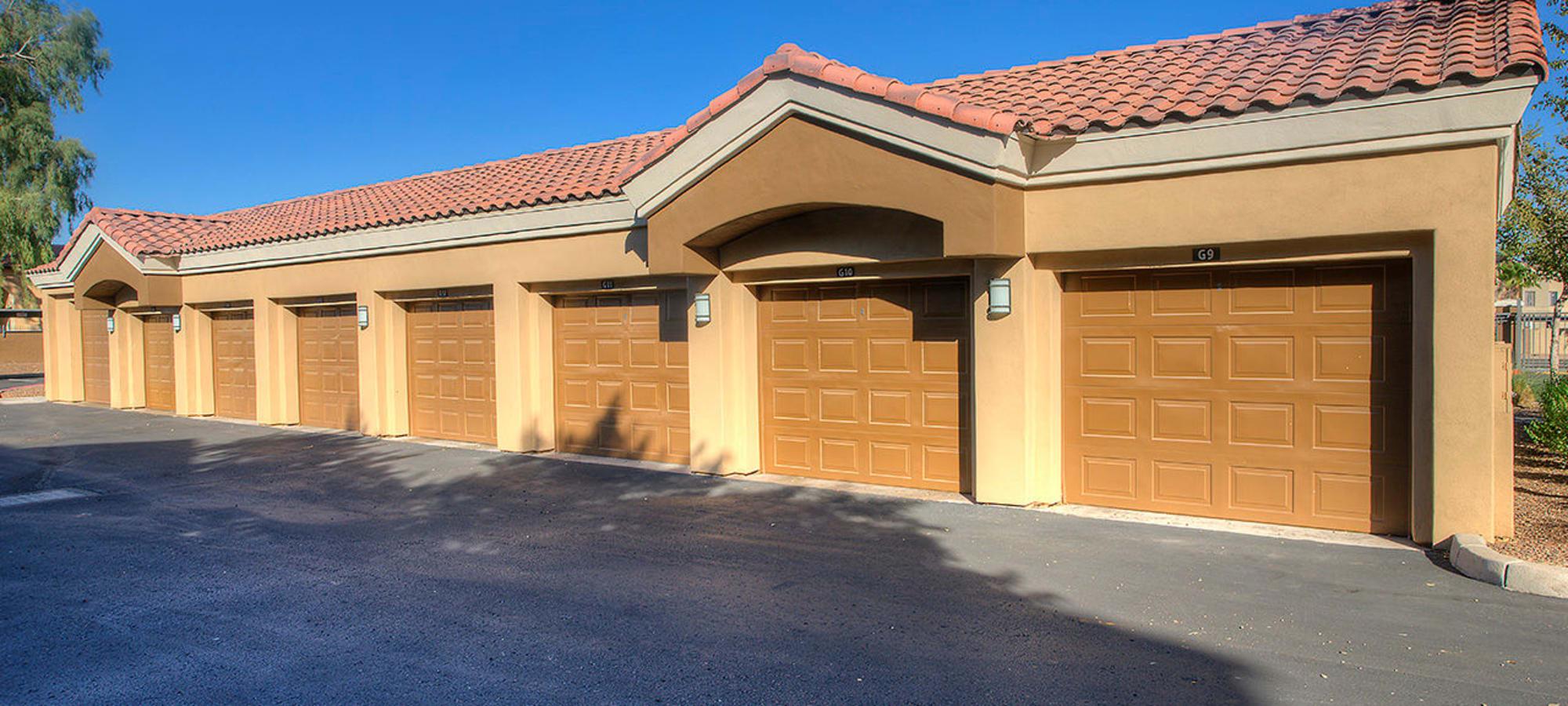 Garage parking upgrade at Park on Bell in Phoenix, Arizona