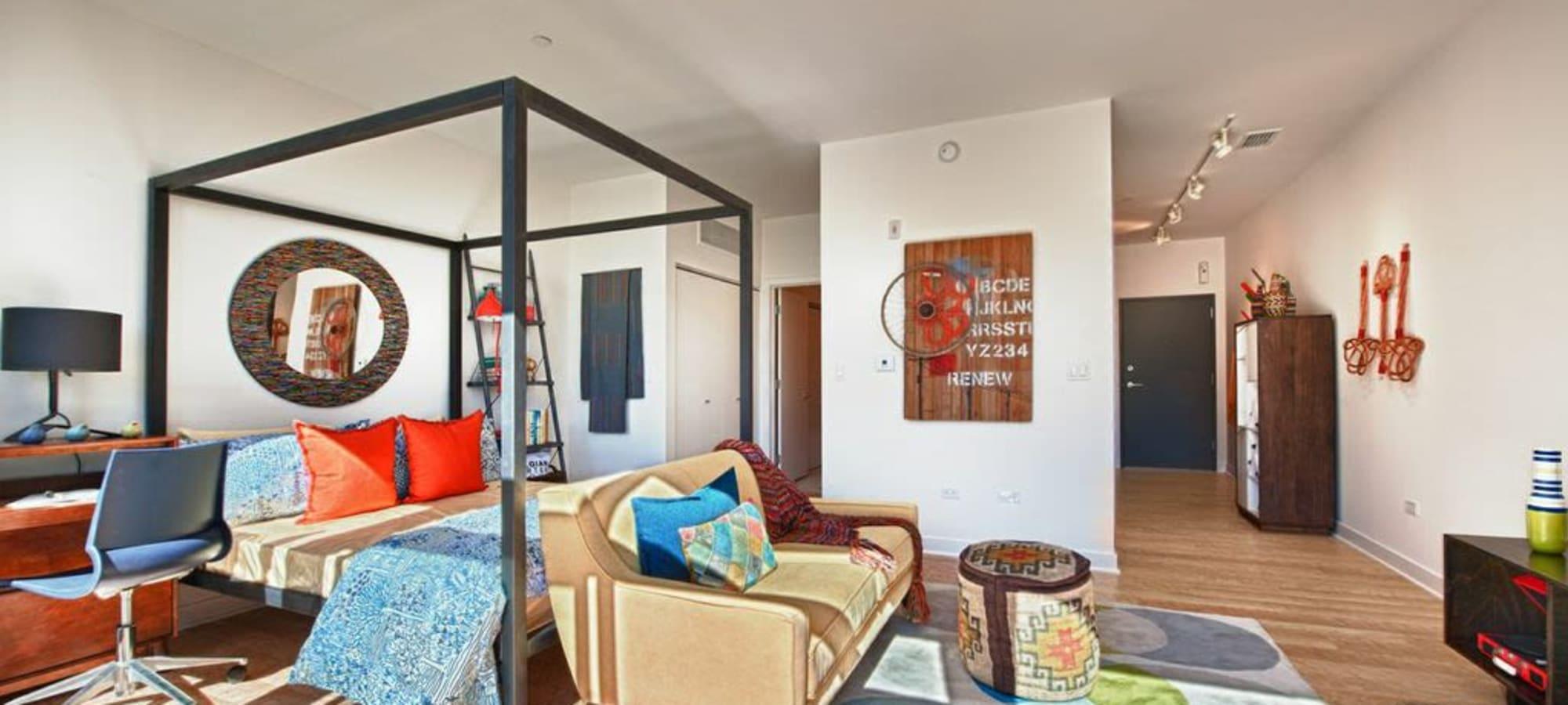 Domus offers a luxury bedroom in Phoenix, Arizona